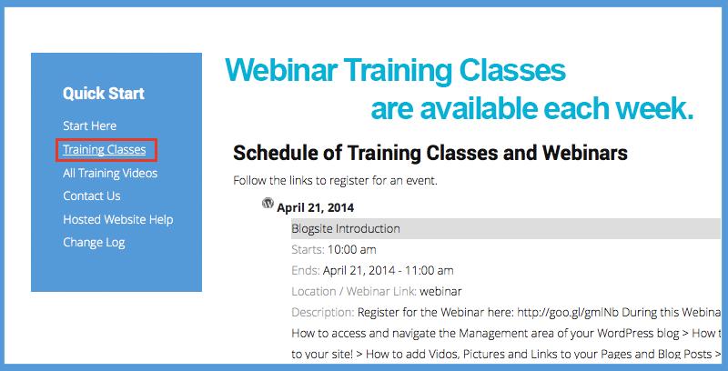 Webinar Training for Support Center